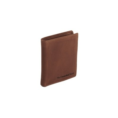 Leather Wallet Brown Anas