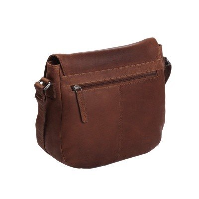 Photo of Leather Shoulder Bag Brown Yves