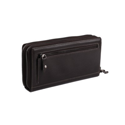 Photo of Leather Wallet Brown Zoe