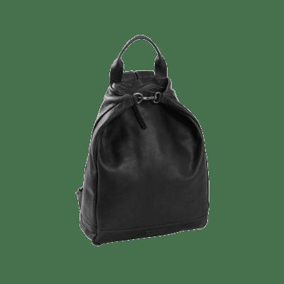 Photo of Leather Backpack T6 Black Thomas Hayo