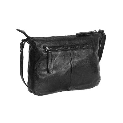 Photo of Leather Shoulder Bag Anthracite Black Label Cali