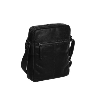 Photo of Leather Shoulder Bag Black Dessau