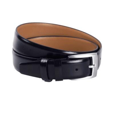 Photo of Leather Belt Navy Zayn