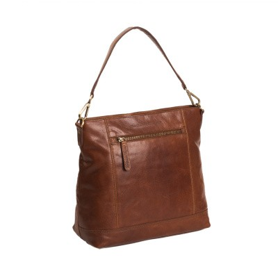 Photo of Leather Shoulder Bag Cognac Annic