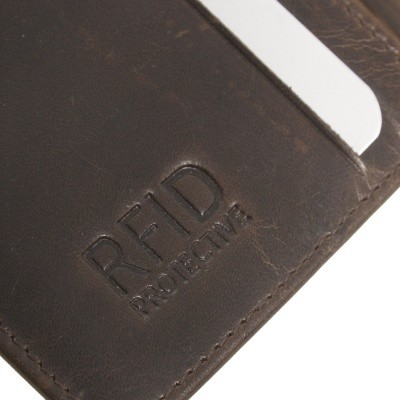Photo of Leather Wallet Brown Chris