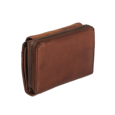 Photo of Leather Wallet Black Label Cognac Aurora