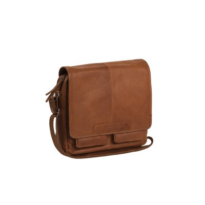Photo of Leather Shoulder Bag Cognac Cabo