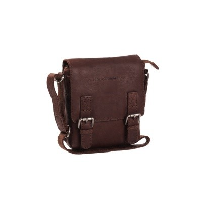 Leather Shoulder Bag Brown Jesse