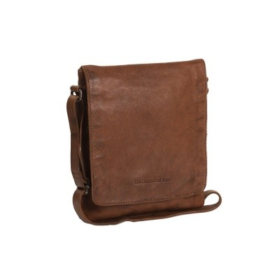 Photo of Leather Shoulder Bag Cognac Cannes