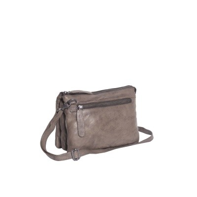 Photo of Leather Shoulder Bag Taupe Erin