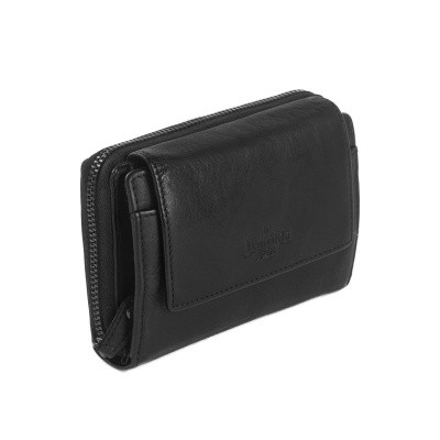 Photo of Leather Wallet Black Label Anthracite Aurora