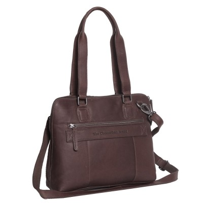 Photo of Leather Shoulder Bag Brown Cara