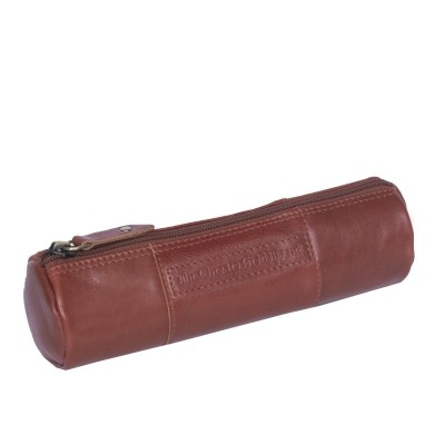 Leather Pen Case Cognac Don