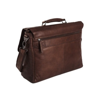 Photo of Leather Laptop Bag Brown Belfast