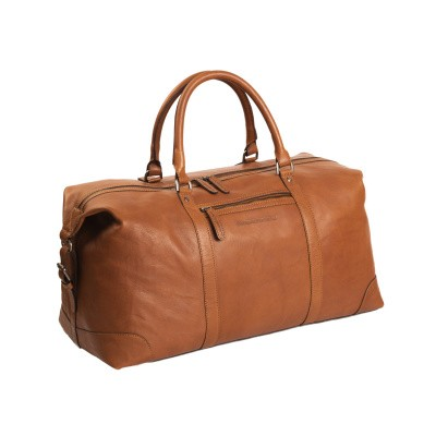 Photo of Leather Weekend Bag Cognac Caleb