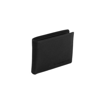 Leather Wallet Black Enzo