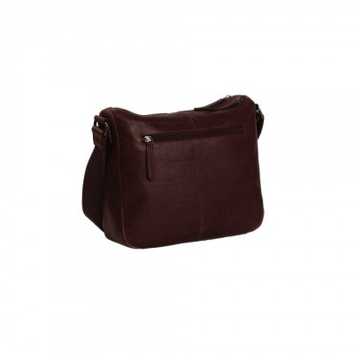 Photo of Leather Shoulder Bag Brown Dhaka