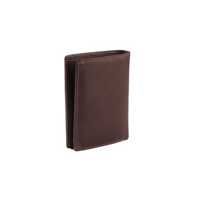 Photo of Leather Wallet Brown Hazel