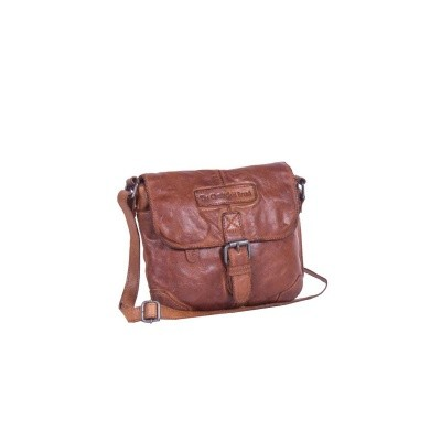 Photo of Leather Shoulder Bag Cognac Cato