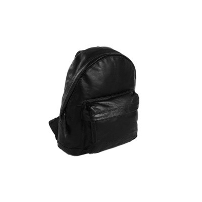 Leather Backpack Black Jamie
