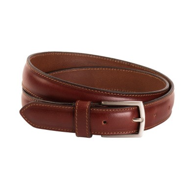 Leather Belt Cognac Gavin