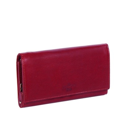 Leather Wallet Red Vilai