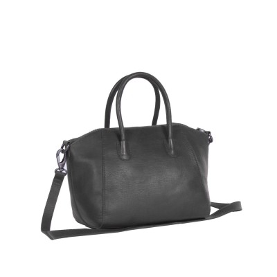 Photo of Leather Shoulder Bag Black Clara