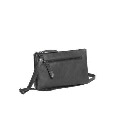 Leather Shoulder Bag Black Eira