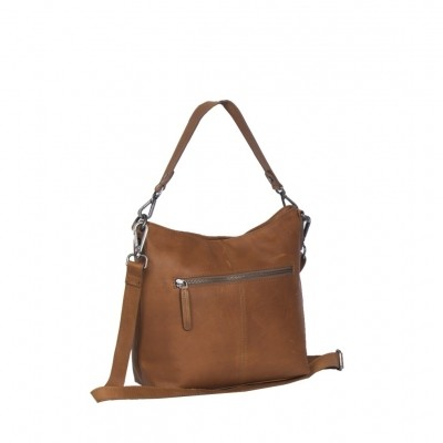 Photo of Leather Shoulder Bag Cognac Jen