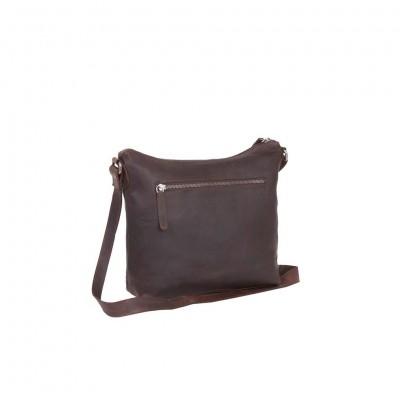 Photo of Leather Shoulder Bag Brown Celyne