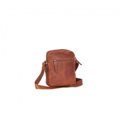Photo of Leather Shoulder Bag Cognac Anna