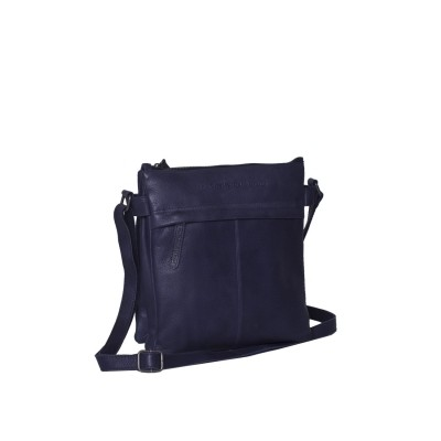 Photo of Leather Shoulder Bag Navy Stella