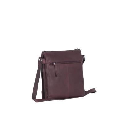 Photo of Leather Shoulder Bag Brown Stella