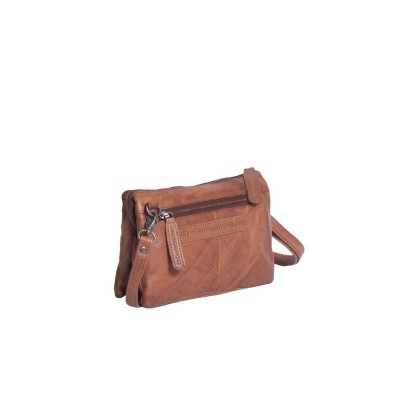 Leather Shoulder Bag Cognac Erin