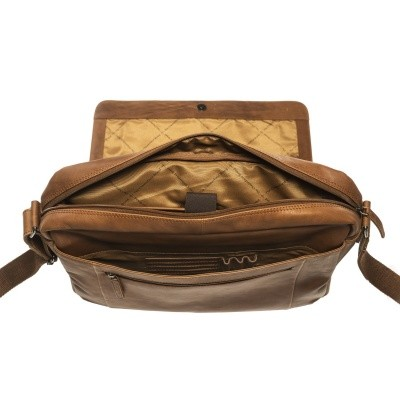 Photo of Leather Shoulder Bag Cognac Chen