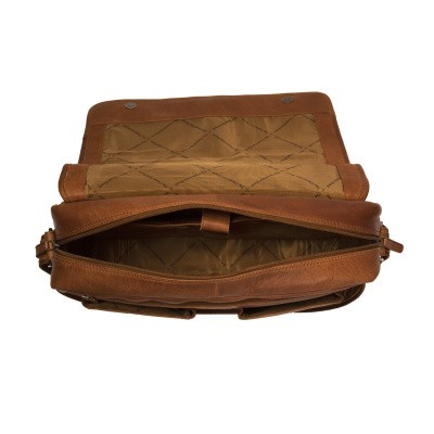 Photo of Leather Shoulder Bag Cognac Cairns