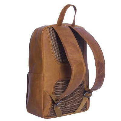 Photo of Leather Backpack T4 Cognac Thomas Hayo