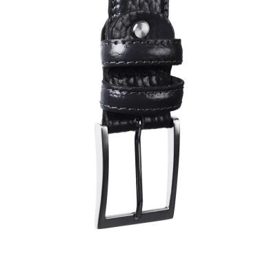 Photo of Leather Belt Navy Mats