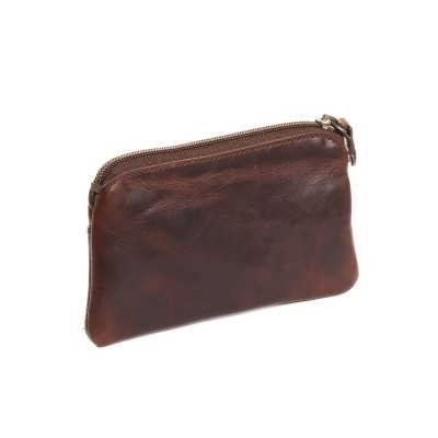 Photo of Leather Key Pouch Brown Miles