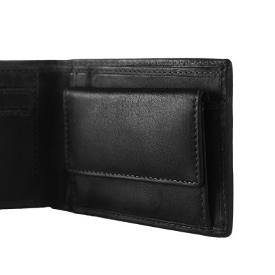 Photo of Leather Wallet Black Enzo