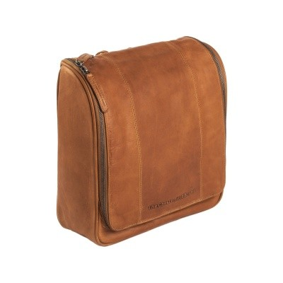 Photo of Leather Toiletry Bag Cognac Basel
