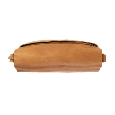 Photo of Leather Shoulder Bag T2 Cognac Thomas Hayo