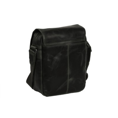 Photo of Leather Shoulder Bag Black Delhi