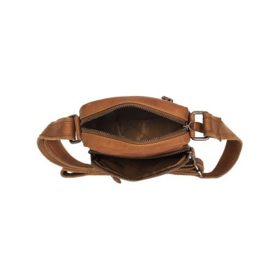 Photo of Leather Shoulder Bag Cognac Bremen