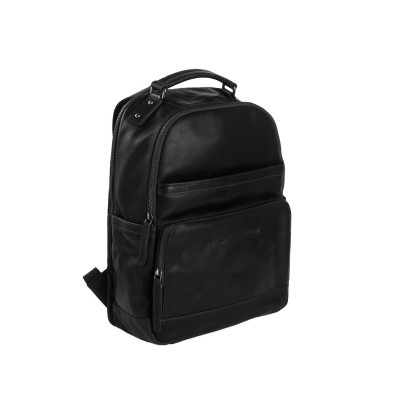 Photo of Leather Backpack Black Austin