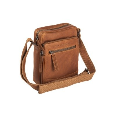 Leather Shoulder Bag Cognac Birmingham