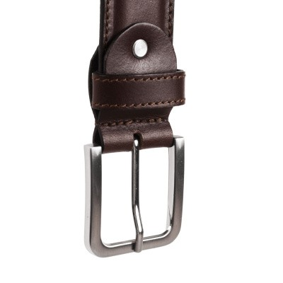 Photo of Leather Belt Brown Dash