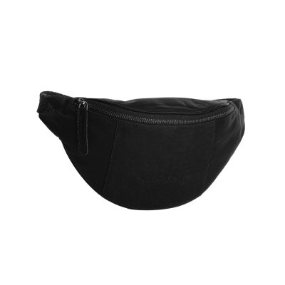 Leather Waist Pack Black Eden