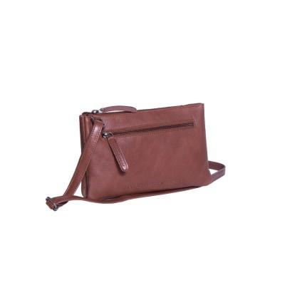 Leather Shoulder Bag Cognac Eira