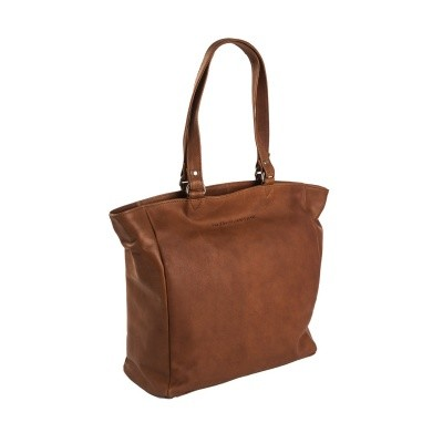 Leather Shopper Cognac Berlin